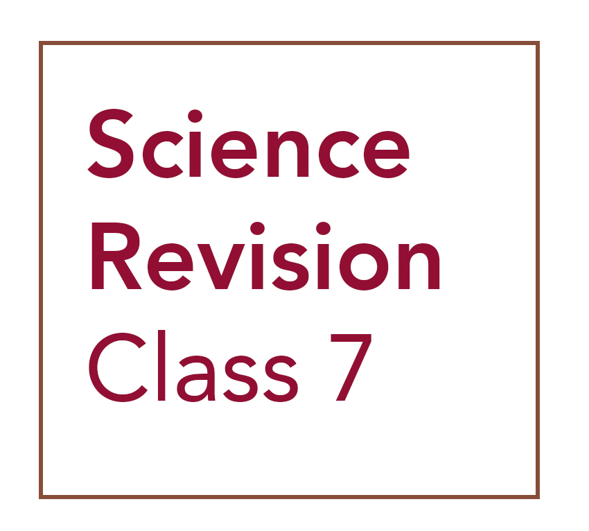 Class 7 Science Revision